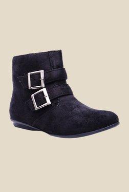 Bruno Manetti Black Flat Booties - Mp000000000303663