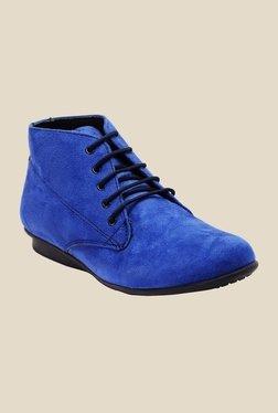 Bruno Manetti Neel Blue Chukka Boots