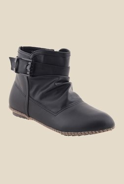 Bruno Manetti Black Flat Booties - Mp000000000304502