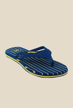 Solethreads Stripes Royal Blue Flip Flops