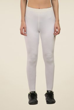 Armr White Skyn Full Length Tights
