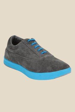 Spunk Geneva Grey & Blue Oxford Shoes