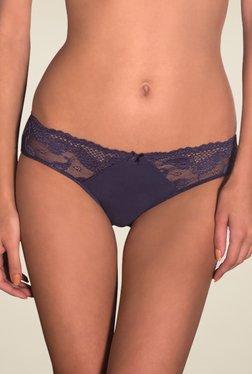 Amante Navy Lace Bikini Panty