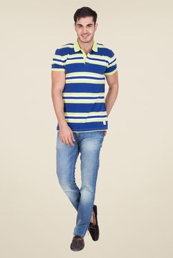 United Colors Of Benetton Blue Skinny Fit Jeans - Mp000000000312371