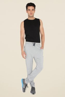 Chromozome Grey Solid Trackpants