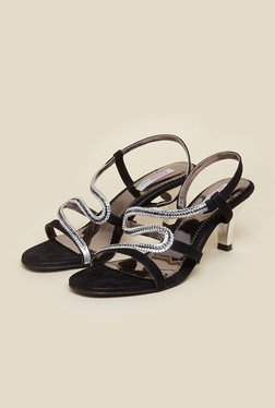Haute Diva by Mochi Black Stiletto Sandal