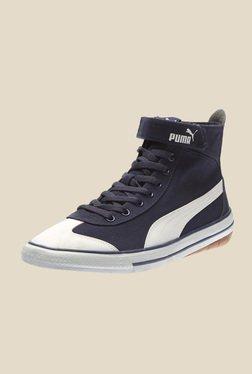 Puma 917 Mid DP Peacoat & White Sneakers