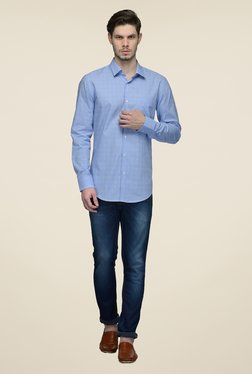 United Colors of Benetton Blue Printed Shirt