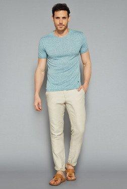 ETA By Westside Aqua Slim Fit T Shirt