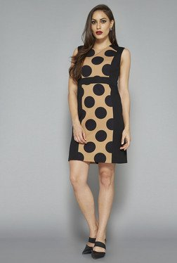 Wardrobe By Westside Black Polka Dot Dress