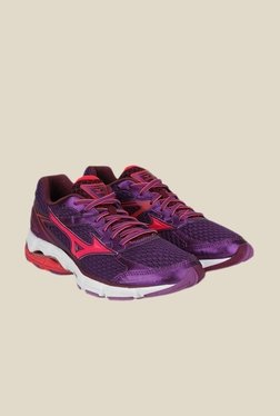 Mizuno Wave Connect 3 Purple & Pink Running Shoes