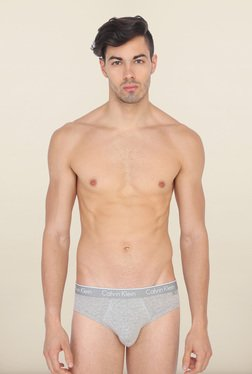 Calvin Klein Plain Grey Briefs