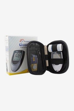 Dr Morepen BG03-100 Glucometer With 100 Strips (Silver)
