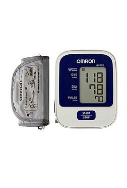 Omron HEM-8712 Automatic Blood Pressure Monitor (White)