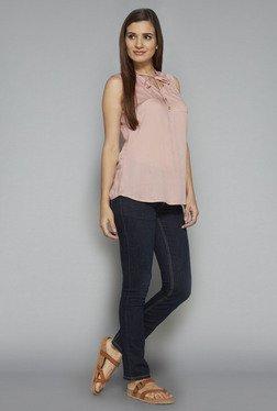 LOV By Westside Pink Tiara Blouse
