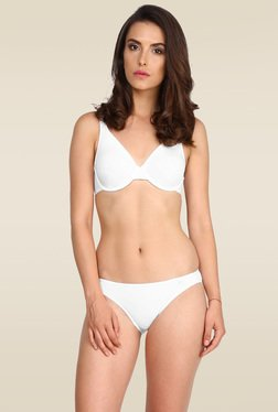 Jockey White Moulded Underwire Bra - 1714