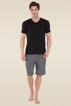 d9ddc414a67f4 Jockey Black V-Neck T-Shirt - 2726