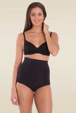 Jockey Black Seamless Shaping High Waist Bikini - 6704