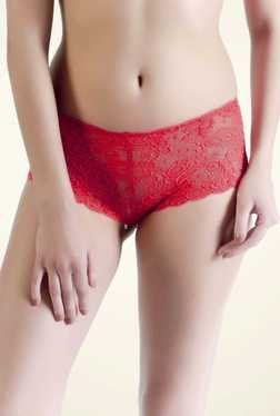 Bwitch Red Lace Hipster