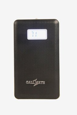 Callmate PBSLCD8000BK 8000 MAh Power Bank (Black)