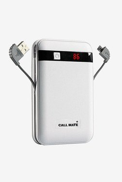 Callmate PBBBINBCC13000WH 13000 MAh Power Bank (White)