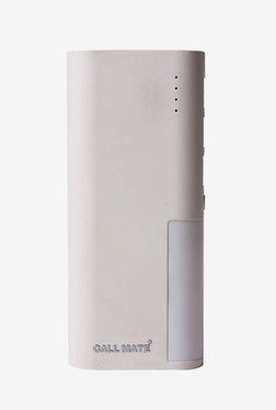 Callmate PBLH12000WH 12000 MAh Power Bank (White)
