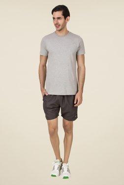 Spunk Dark Grey Solid Shorts