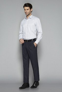 Weststreet by Westside Navy Solid Trouser