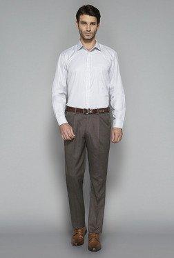 Weststreet By Westside Brown Solid Trouser