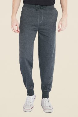 Park Avenue Grey Solid Pant - Mp000000000334276