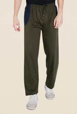 Park Avenue Olive Solid Pant