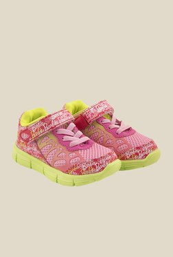 Barbie Pink & Lime Green Casual Shoes