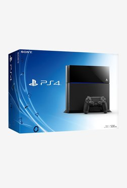 Sony 500 GB PS4 Console (Black)