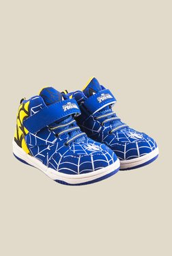 Spiderman Blue & Yellow Casual Shoes