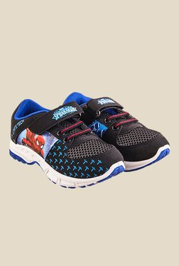 Spiderman Black & Blue Casual Shoes
