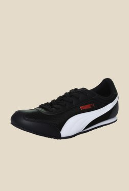 Puma 76 DP Black & White Sneakers