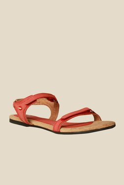Scholl Ozan Light Red Floater Sandals