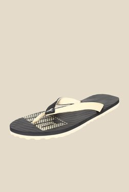 Puma Miami Fashion II DP Black & Creampuff Flip Flops