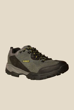 Power All Season Olive Green Casual Shoes