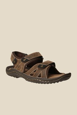 Weinbrenner Lagos Brown Floater Sandals