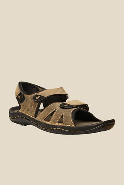 Weinbrenner Lagos Tan Floater Sandals