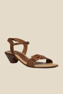 Bata New Aroma Brown Sling Back Sandals