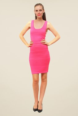 FCUK Pink Lace Dress