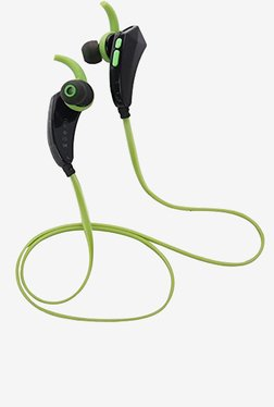 Bluetooth Stereo Sport with Mic for iPhone, Samsung, (Green)