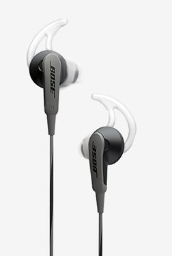 Bose SoundSport In the Ear Headphones (Charcoal Black)