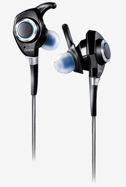 Denon Urban Raver AH-C300 In the Ear Headphones (Black)