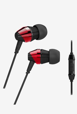 MEE Audio M-Duo Dual In The Ear Headphone (Red)