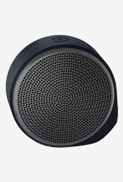 Logitech X100 Bluetooth Wireless Speaker (Black/Grey)