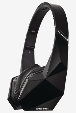 Diesel Vektr MH DESL ON CTU WW On-Ear Headphones (Black)