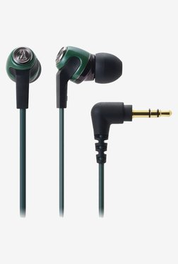 Audio Technica ATH-CK323M In the Ear Headphone (Green)